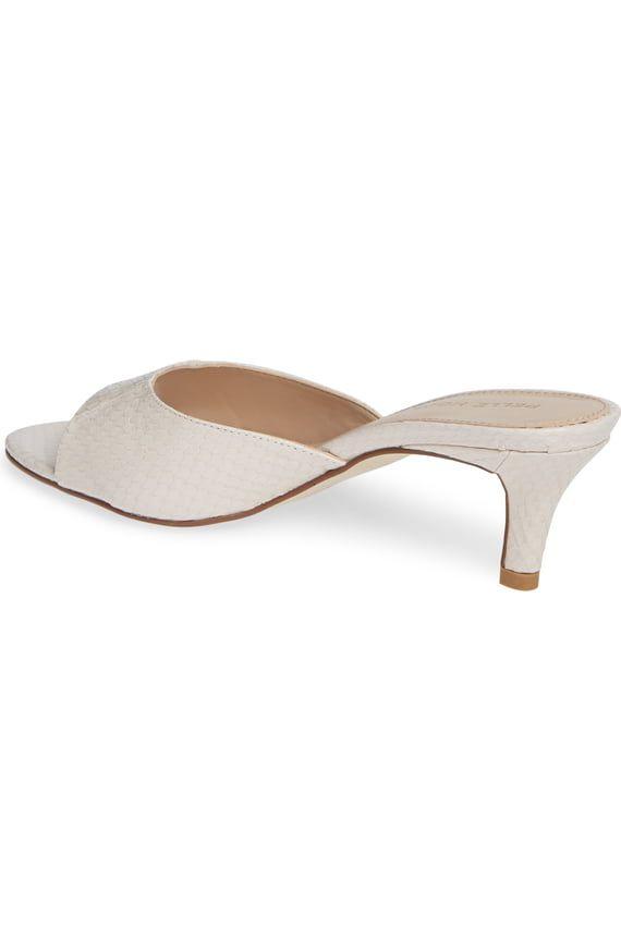 Pelle Moda Bex Kitten Heel Slide Sandal Women Nordstrom Womens Sandals Kitten Heels Heels