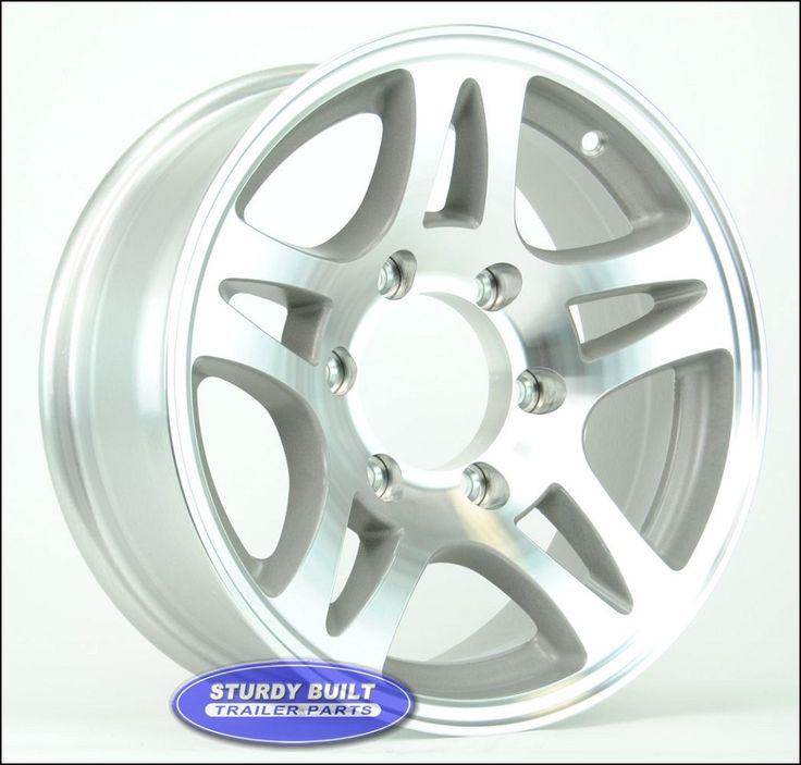 6 Lug Aluminum Trailer Wheels