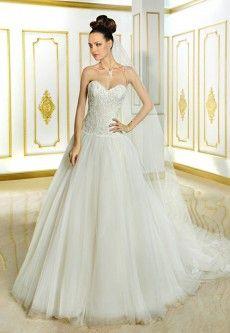 Cosmobella 7737 Deze jurk hebben wij in het roze!! trouwjurken | De Bruidshoek