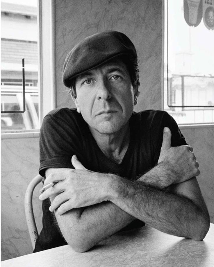 Leonard Cohen, Santa Monica, 1982 by Dominique Issermann