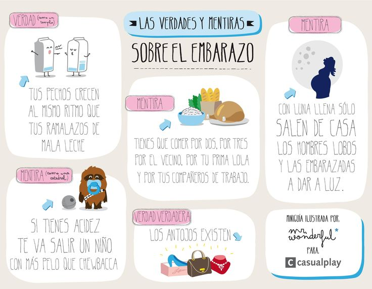 Verdades y mentiras del embarazo: Casualplay + Mr. Wonderful