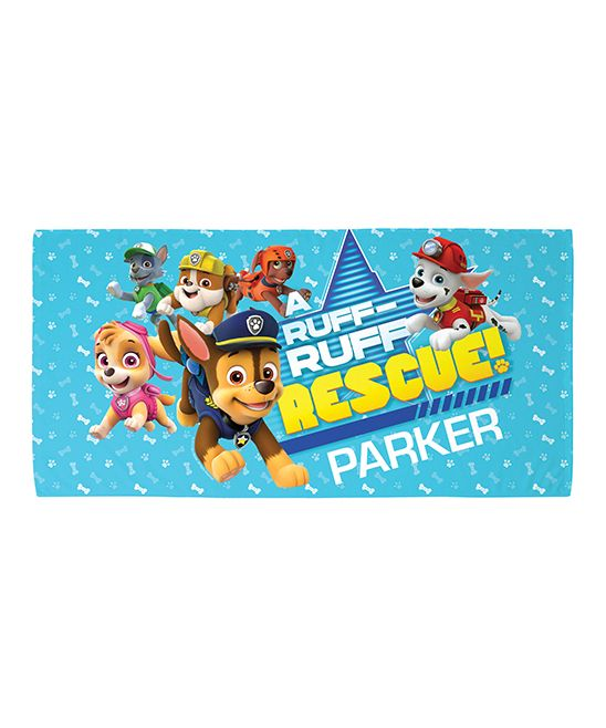 Personalized Paw Patrol Beach Towel: 17 Best Ideas About Paw Patrol Rescue On Pinterest