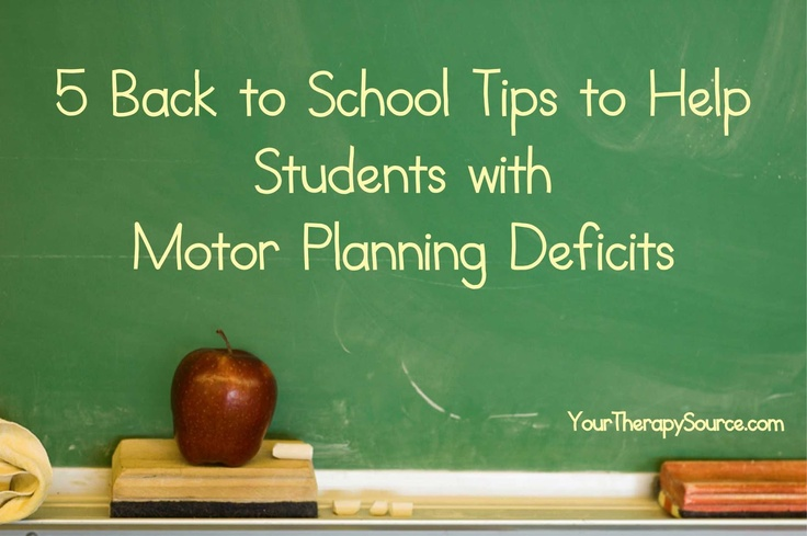 After a vacation week some children will benefit from these tips
