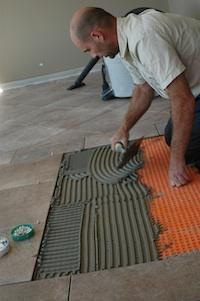 install your own ceramic tiles