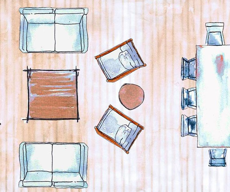 Living room layouts: 15 ways to position your furniture  – House of Dreams