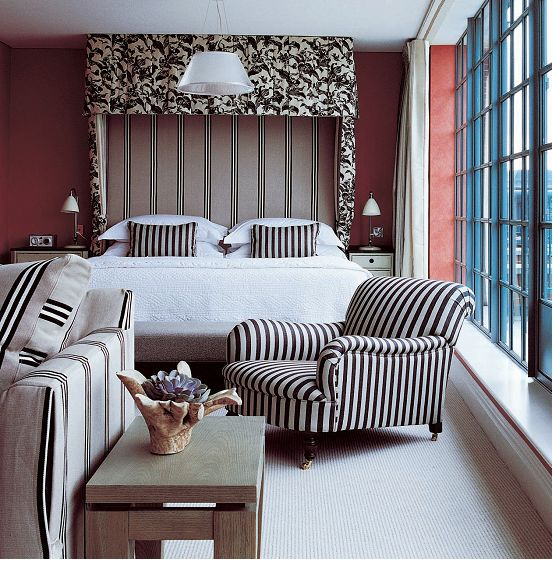 Kit Kemp: The Soho Hotel in London is part of a group (Firmdale Hotels) started up by husband and wife team Tim and Kit Kemp.