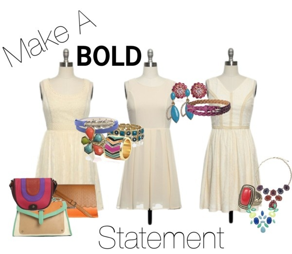 """Make a Bold Statement"" by laceaffair on Polyvore"