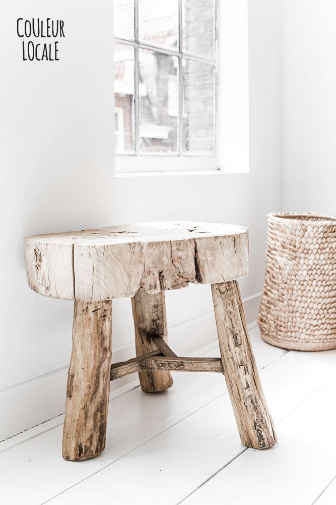 porcupine basket- old tabel olm www.couleurlocale.eu