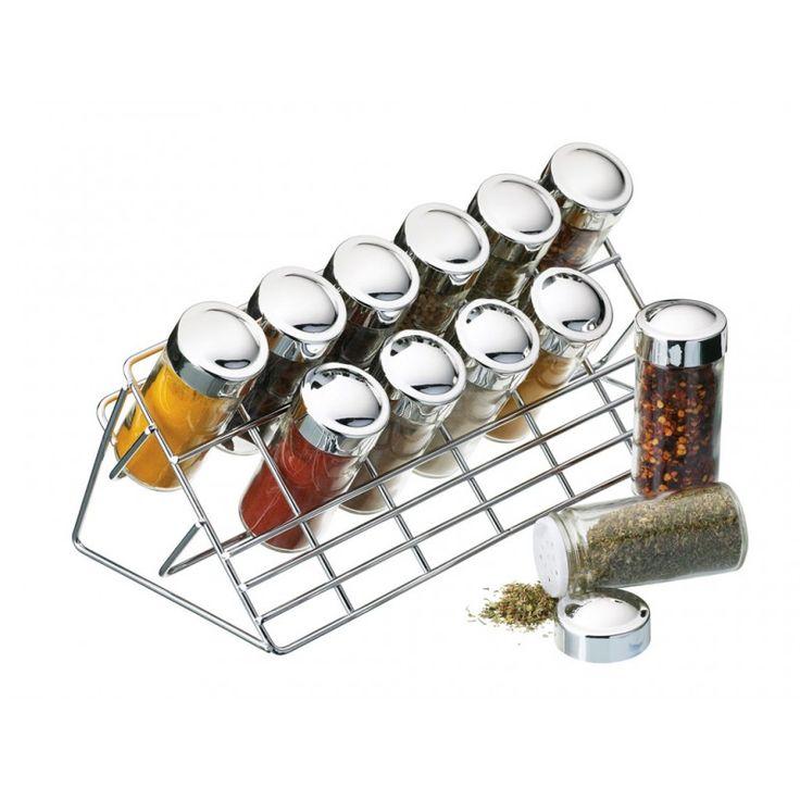 Kryddställning från Kitchen Craft för smart förvaring av örter och kryddor.