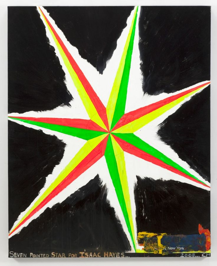 Chris Martin's Seven Pointed Star for Isaac Hayes, 2009