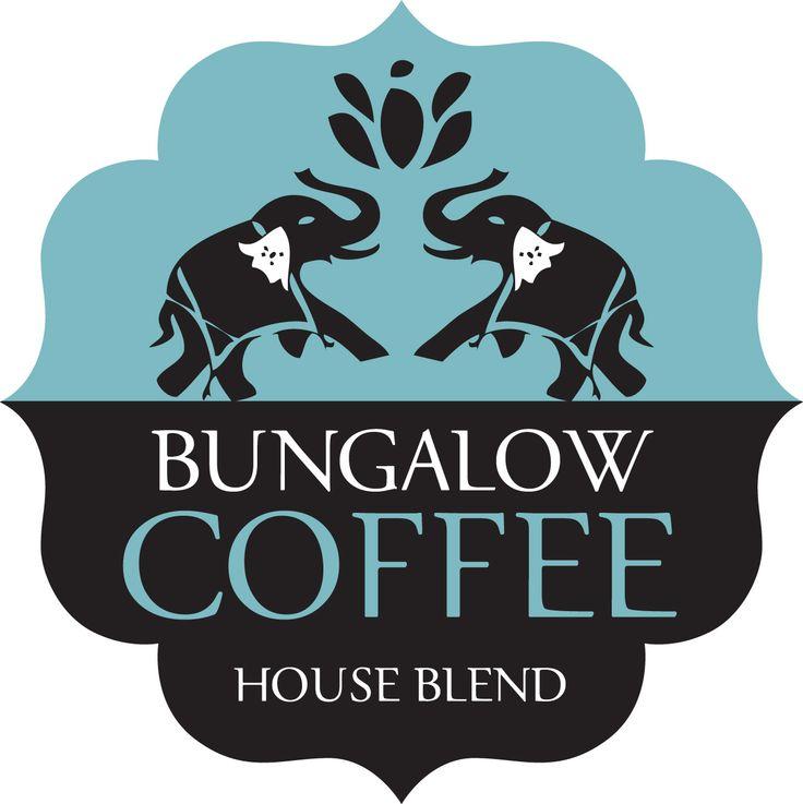 Bungalow Coffee - Logo designed by - www.inky.net.au