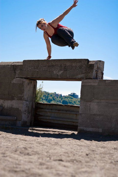 I would love to be with a girl that does parkour. Me and her could have duet runs and stuff. And the places we could go and just be alone.