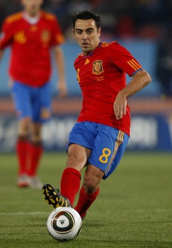Xavi Hernández, Spain