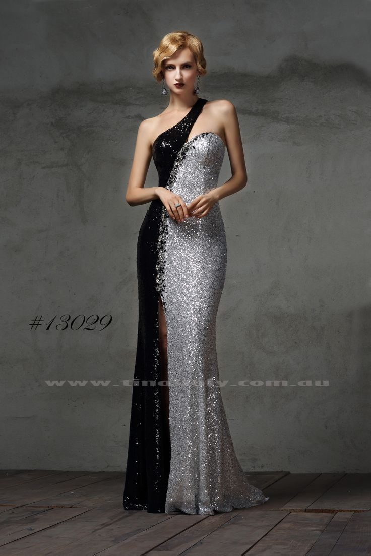 13029 Black Silver