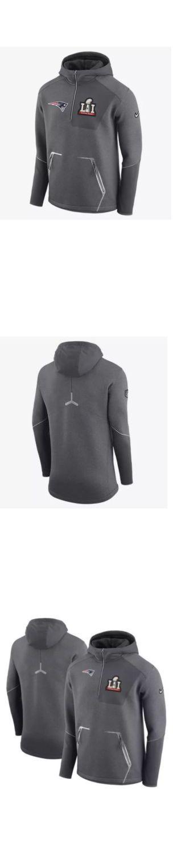 Football-NFL 206: Nike Mens New England Patriots Super Bowl 1 4 Zip Hoodie Jacket Sz. L Tom Brady -> BUY IT NOW ONLY: $147.99 on eBay!