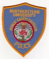 NORTHEASTERN UNIVERSITY ILLINOIS POLICE PATCH