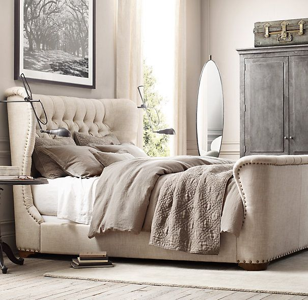 stonewashed belgian linen bedding collection | bedrooms