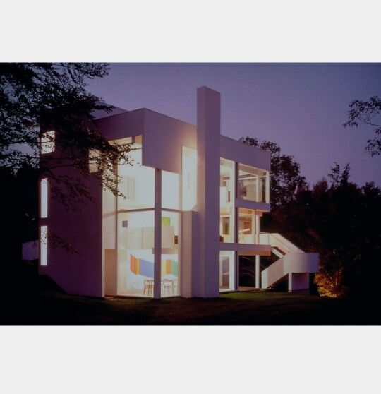 Casa smith, long island  Arq: Richard Meier 1965-1967