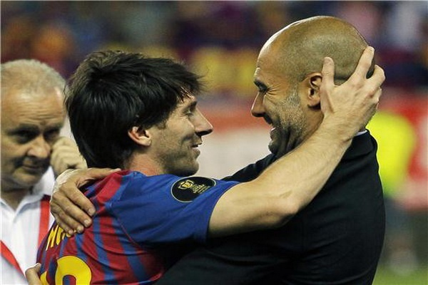 Pep, Messi, Baggio