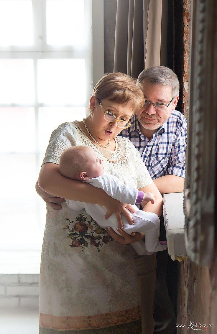 Фотосессия для бабушки и дедушки