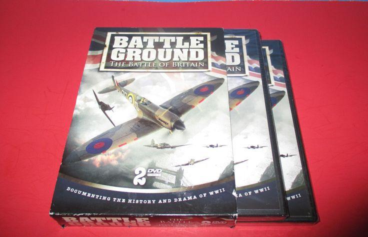 Battle Ground The Battle of Britain DVD, 2008 2-Disc Set BRAND NEW- WORLD WAR II #battlegroundthebattleofBritain #WWII #worldwarII #documentary #history #war #movies #MovieDvd http://stores.ebay.com/vinylrockretro