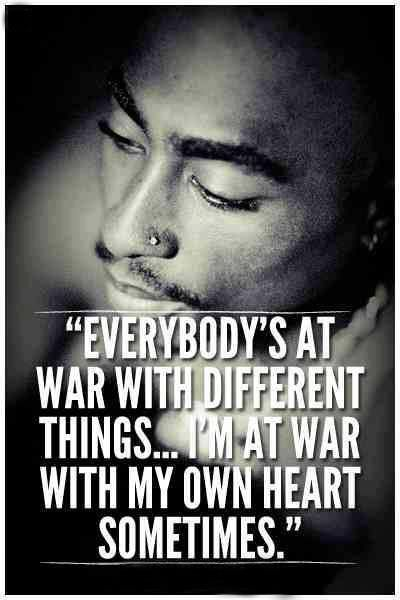 tupac quotes about being strong quotesgram
