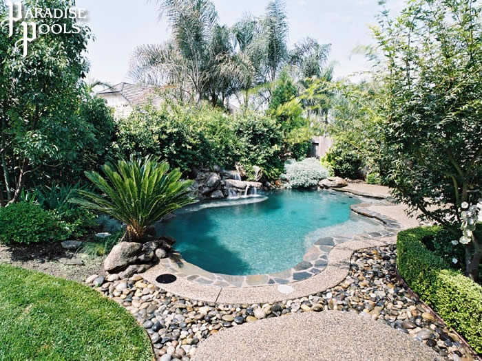 1000 images about pool landscaping on pinterest for Landscaping rocks visalia ca