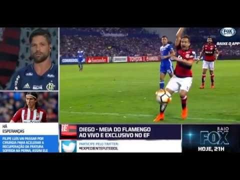 Diego Ribas Do Flamengo Participa Do Debate Expediente E Fala Do