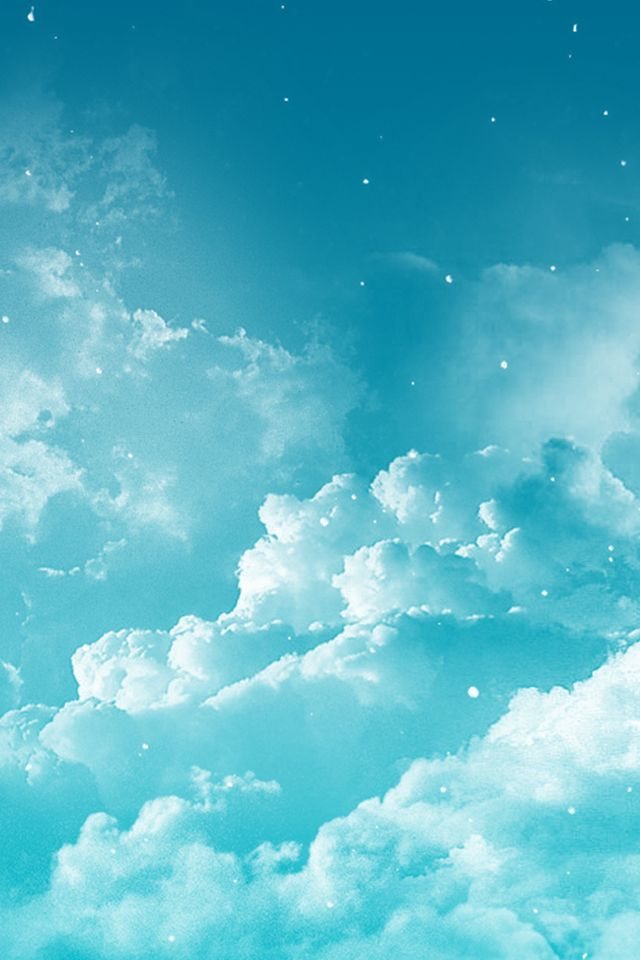 Fantasy Dreamy Cloudy Space#iPhone #4s #Wallpaper