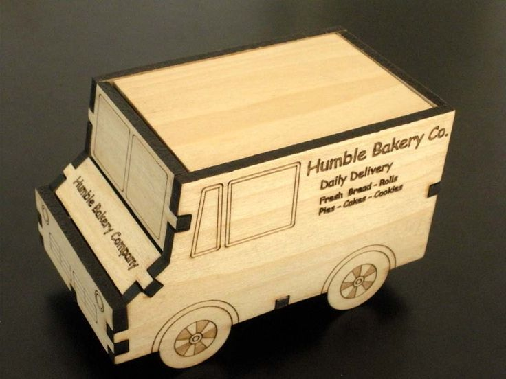 Bakery Delivery Truck Box