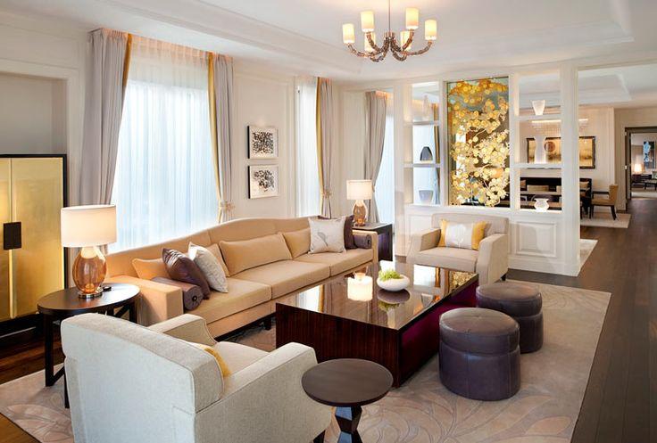The St. Regis Osaka - Royal Suite - Living Room - Japan & Luxury Travel Advisor – luxurytraveltojapan.com - #Luxuryhotels #Osaka #Japan #Japantravel #stregisosaka