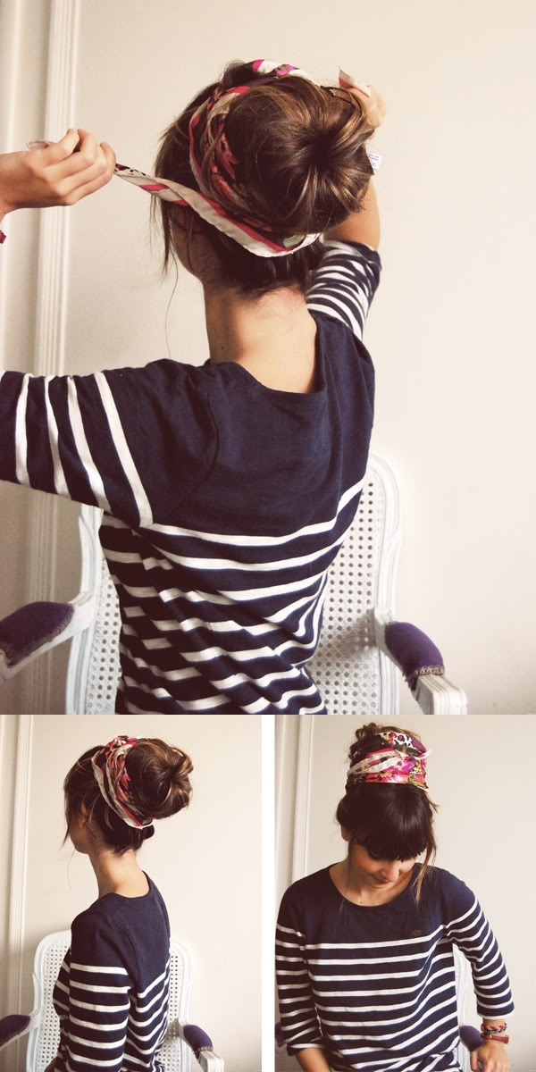 head wrap hair ideas diy easy cute boho bun
