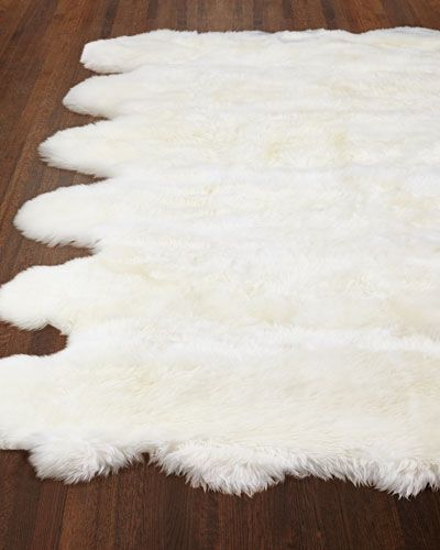 Exquisite Rugs Rocco Sheepskin Rug 5 X