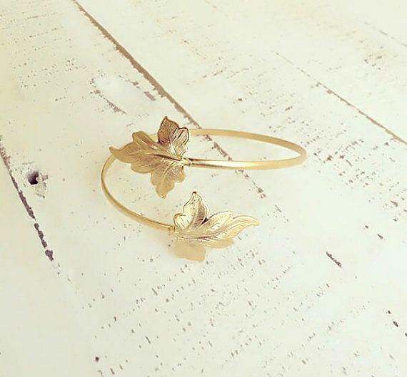 upper-arm-cuff-bracelet-leaf-bracelet