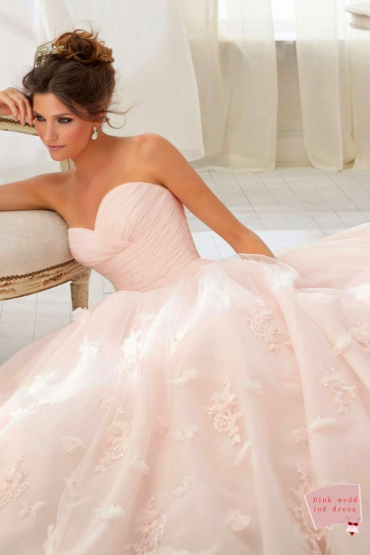 A-line Tulle Beading,flowers Sweetheart Natural Waist Chapel Train Wedding Dress