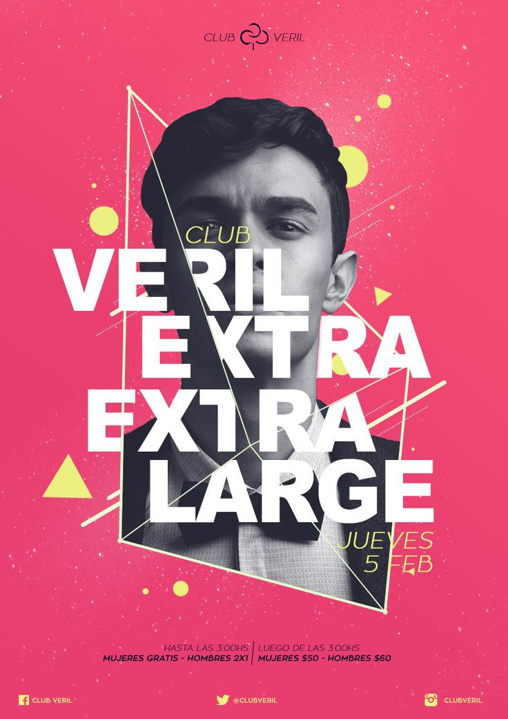 Afiche para Club Veril | Rio Gallegos