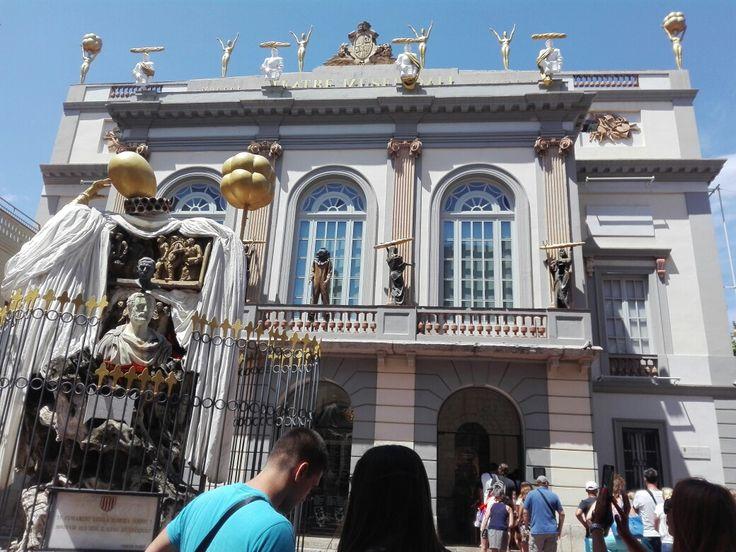 Dalí museum. Figueres, Spain