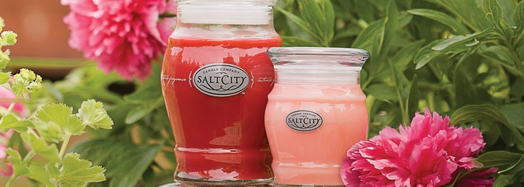 Salt City Candles. Made with soy wax... the BEST strongest smelling candles ever!!