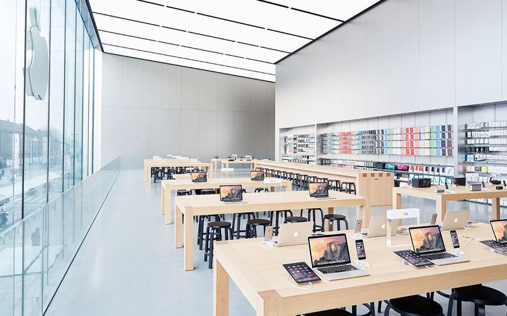Apple has been granted a patent for the ceiling lighting system for its next-generation stores