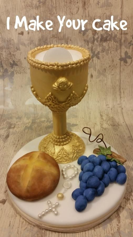 Topper First Communion by Sonia Parente