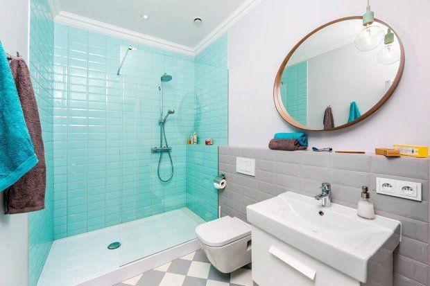 Zdjęcie nr 4 w galerii - Kolorowe płytki w łazience - aranżacje