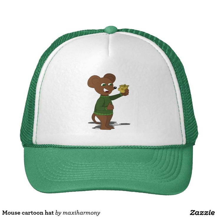 Mouse cartoon hat