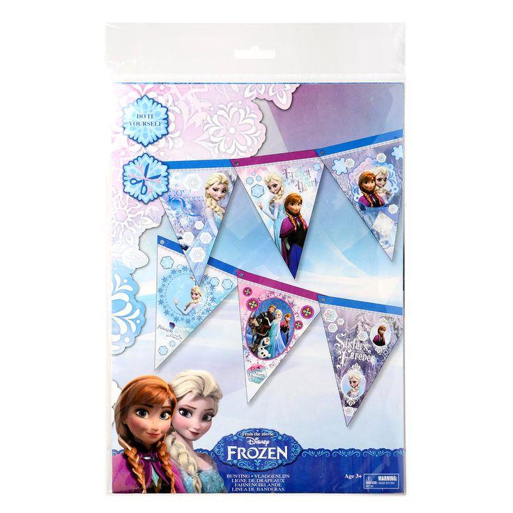 Afmeting: verpakking 33 x 22 cm - Disney Frozen A4 set - Maak je eigen Vlaggenlijn