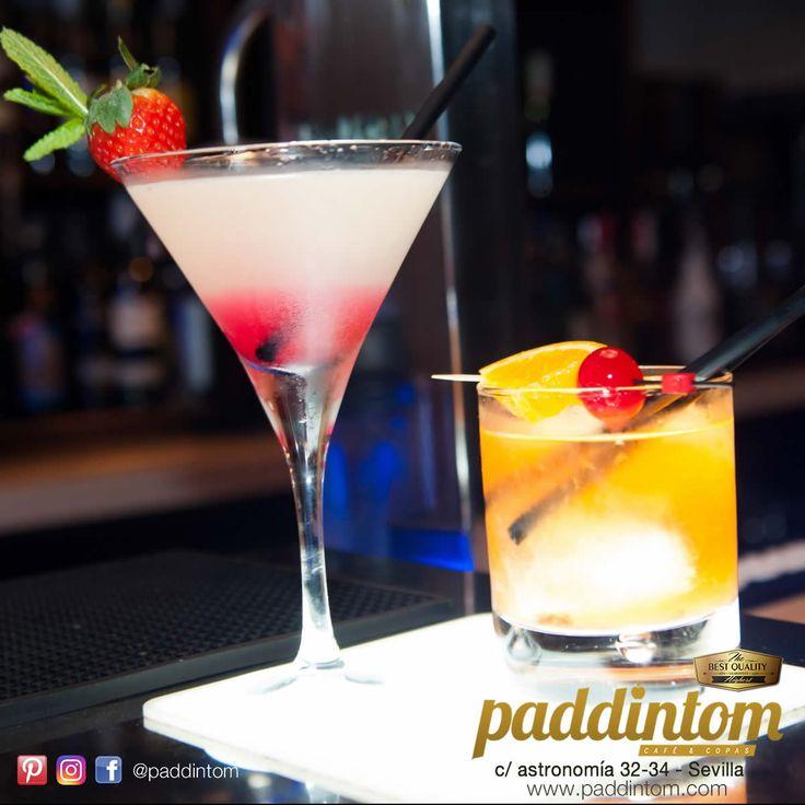 En #Paddintom Café & Copas tenemos la carta de cócteles hecha a tu medida, con y sin alcohol.  Martini MACACUYÁ Aunque el #maracuyá no es un clásico de la coctelería, su mezcla con el #martini crea una copa de textura sedosa, aromática, con toque ácido que combina muy bien con ginebras, vodkas y rones.  PINEAPPLE SUNSHINE Zumos de #piña y naranja mezclados con zumo de #lima y #limón naturales y una pizca de #sirope de fruta de la pasión, servido sobre hielo. Una mezcla de sabores intensos en…