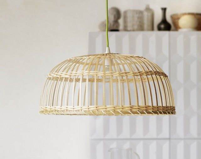 17 best images about d i y on pinterest geometric jewelry lack table and d - Suspension rotin blanc ...