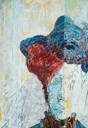 Ilka Gedo, 'Double Self Portrait', 1985, Detail 1
