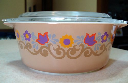 Super rare unknown pyrex pattern, if you find any buy it and mail it to me ASAP!