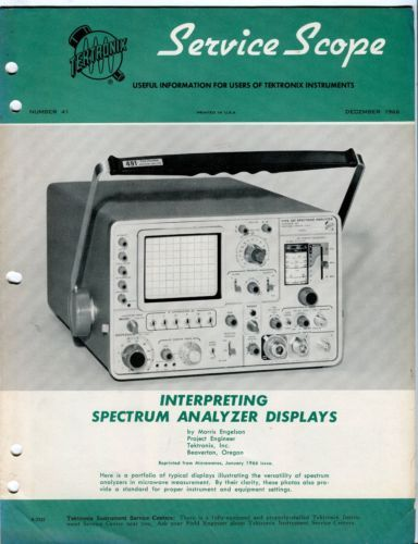 Image result for vintage Spectrum Analyzer