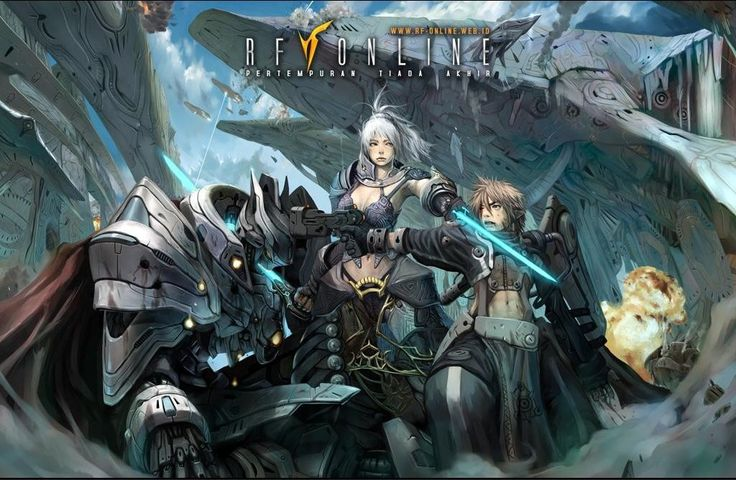 Download RF Online Gratis, Game MMORPG Fantasy Keren