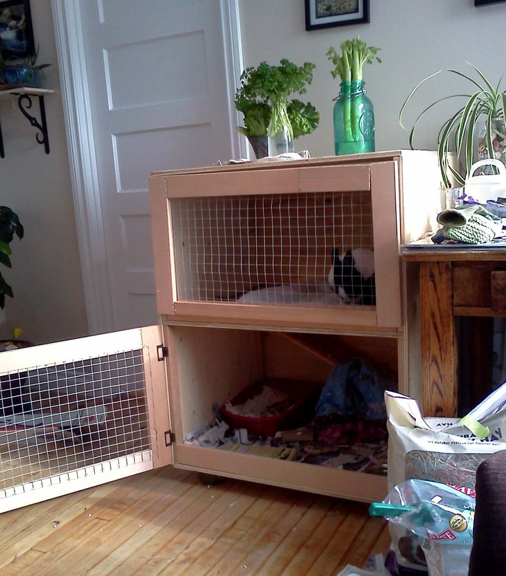 1000 ideas about rabbit cages on pinterest rabbit for Homemade bunny houses